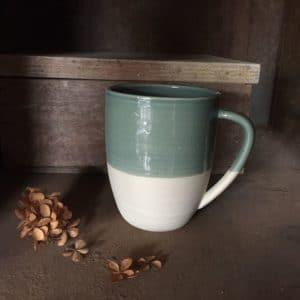 Mug L vert canard