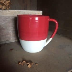 Mug XL rouge de Mars