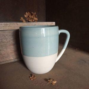 Mug XL bleu céladon
