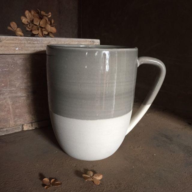 Mug XL gris orage